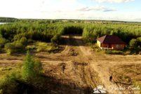 Вид на земли поселка ЭКОВИТА до подготовки дорог